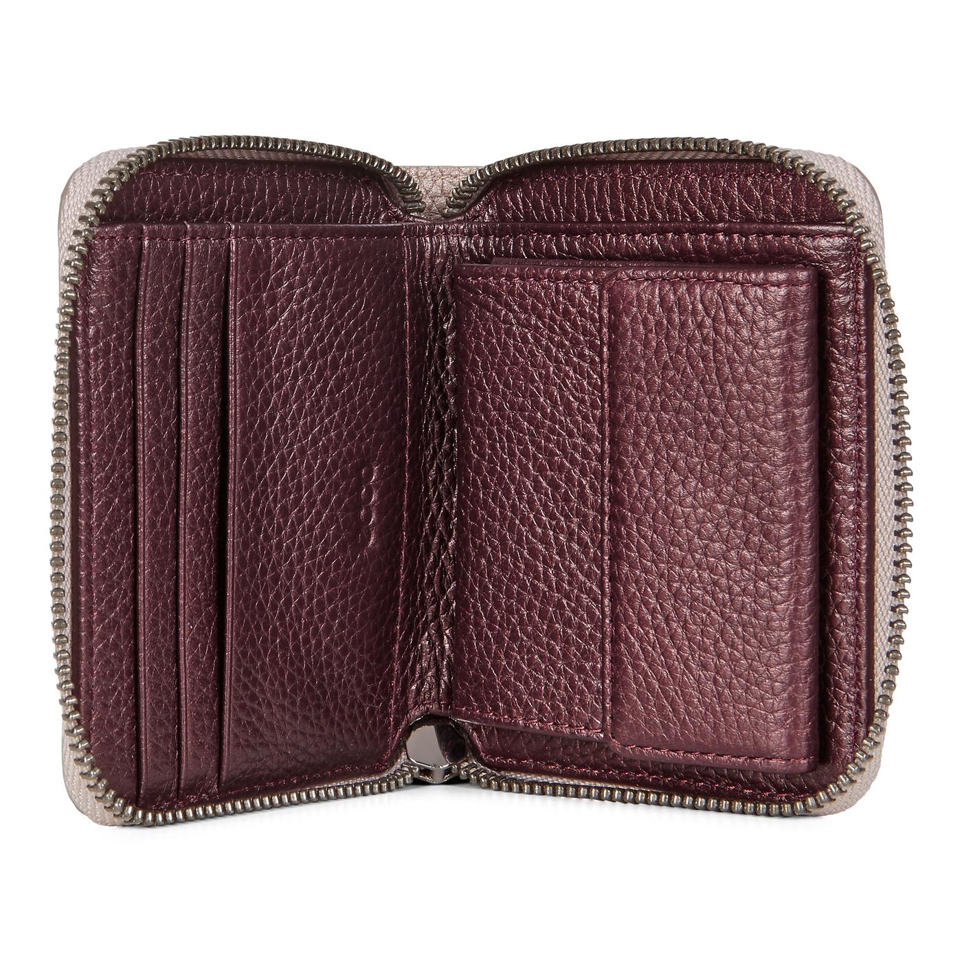 ECCO SP3 Metallic Small Zip Around Wallet
