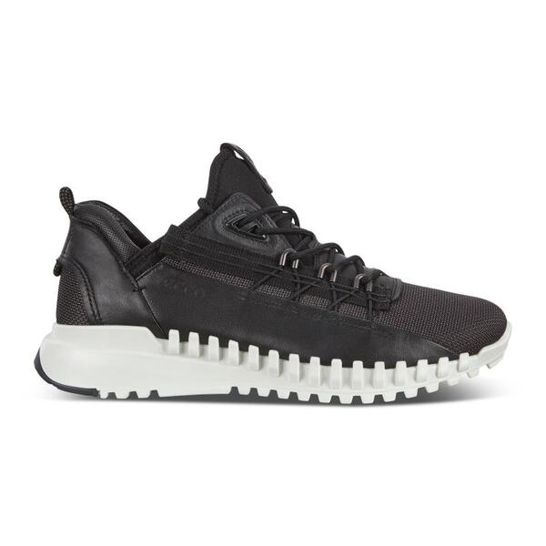 ECCO ZIPFLEX Mens Sneaker LOW Leather/Textile
