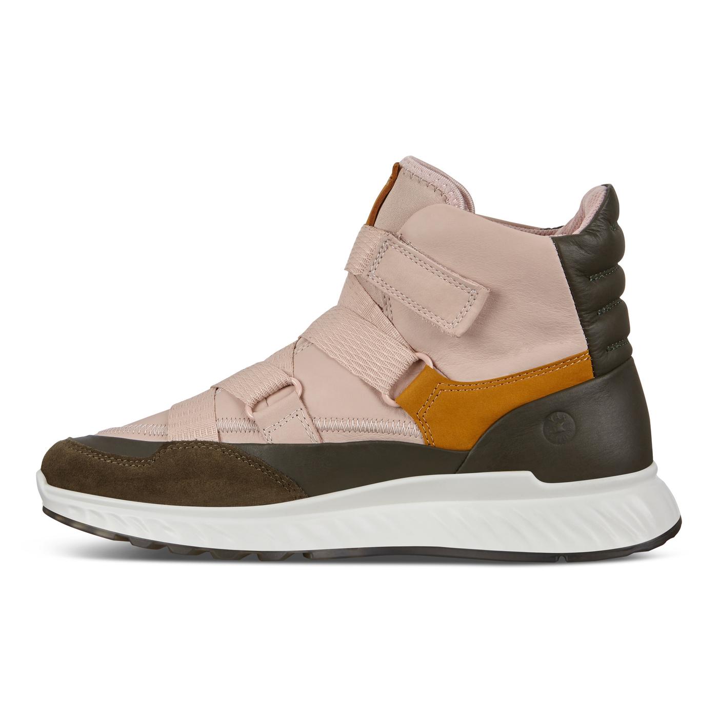 ECCO ST.1 Womens High Cut Strap Sneaker