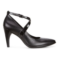 ECCO SHAPE POINTY Strap Pump 75mm