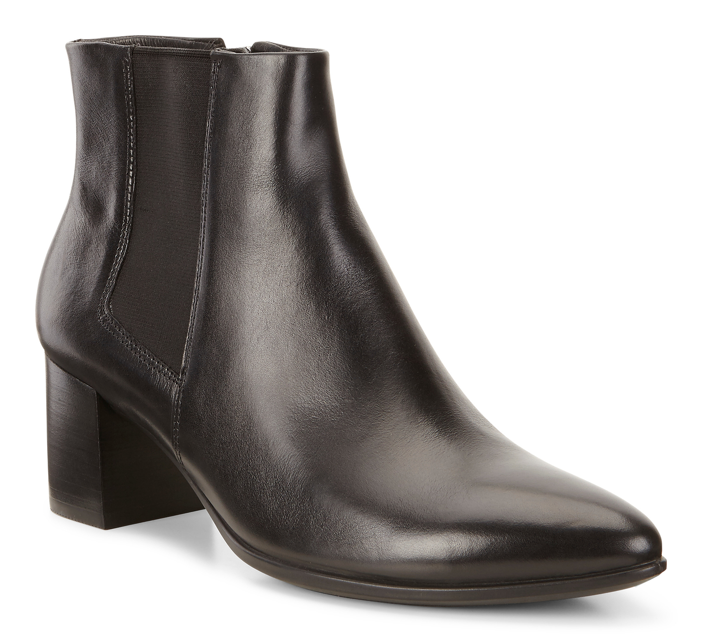 ECCO SHAPE POINTY BLOCK Side Gore Boot 45mm
