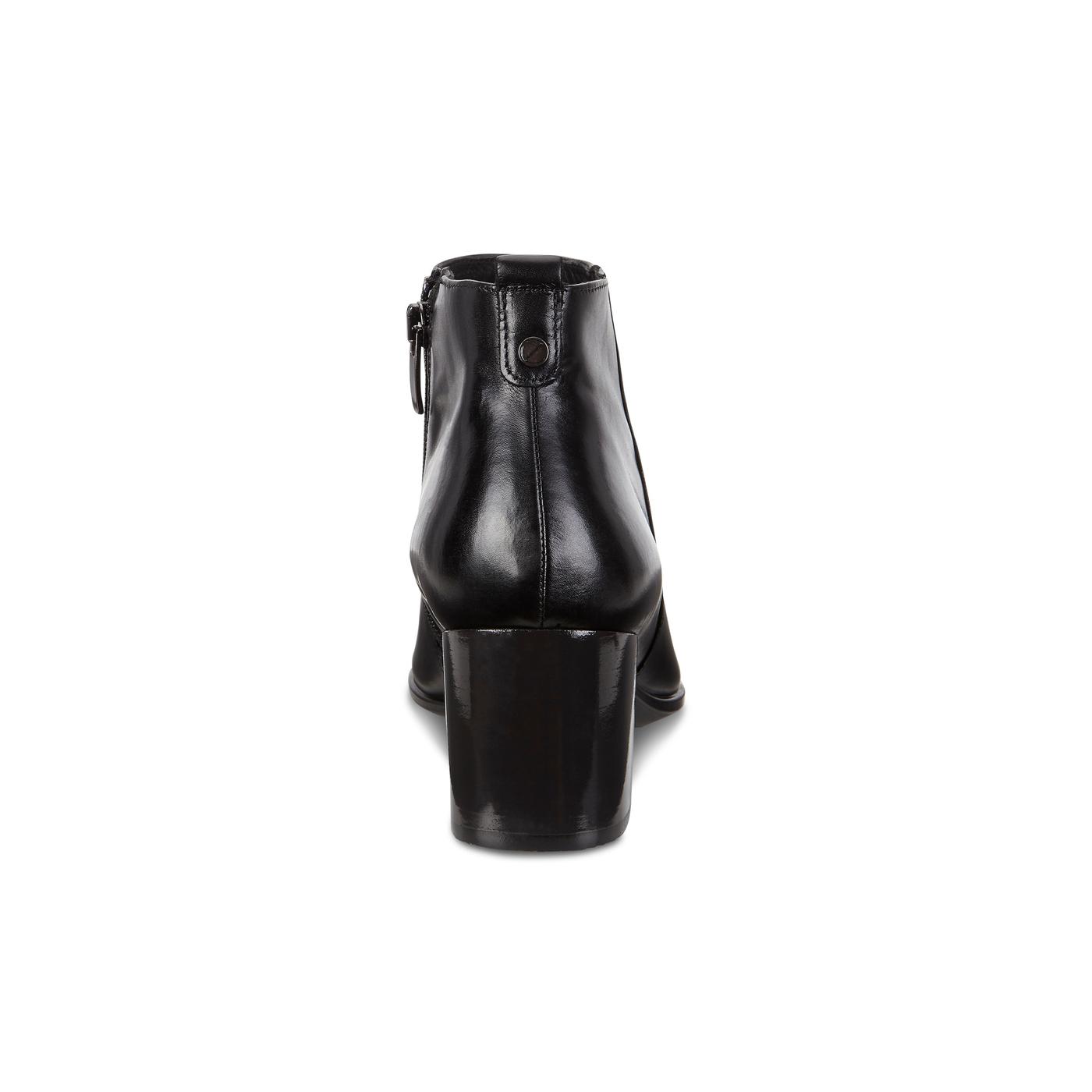 ECCO SHAPE POINTY BLOCK Side Zip Boot 45mm