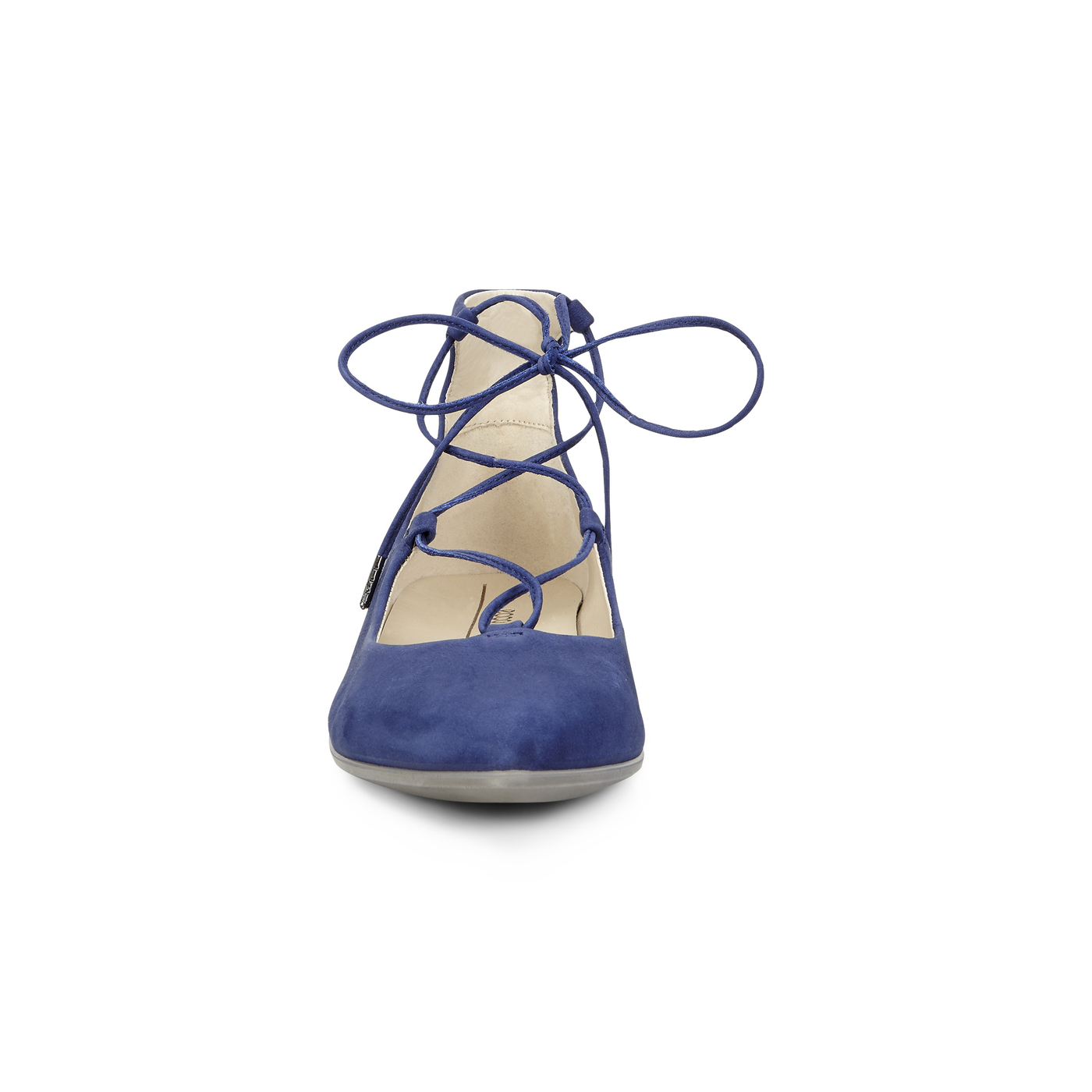 ECCO SHAPE POINTY Tie Up Ballerina