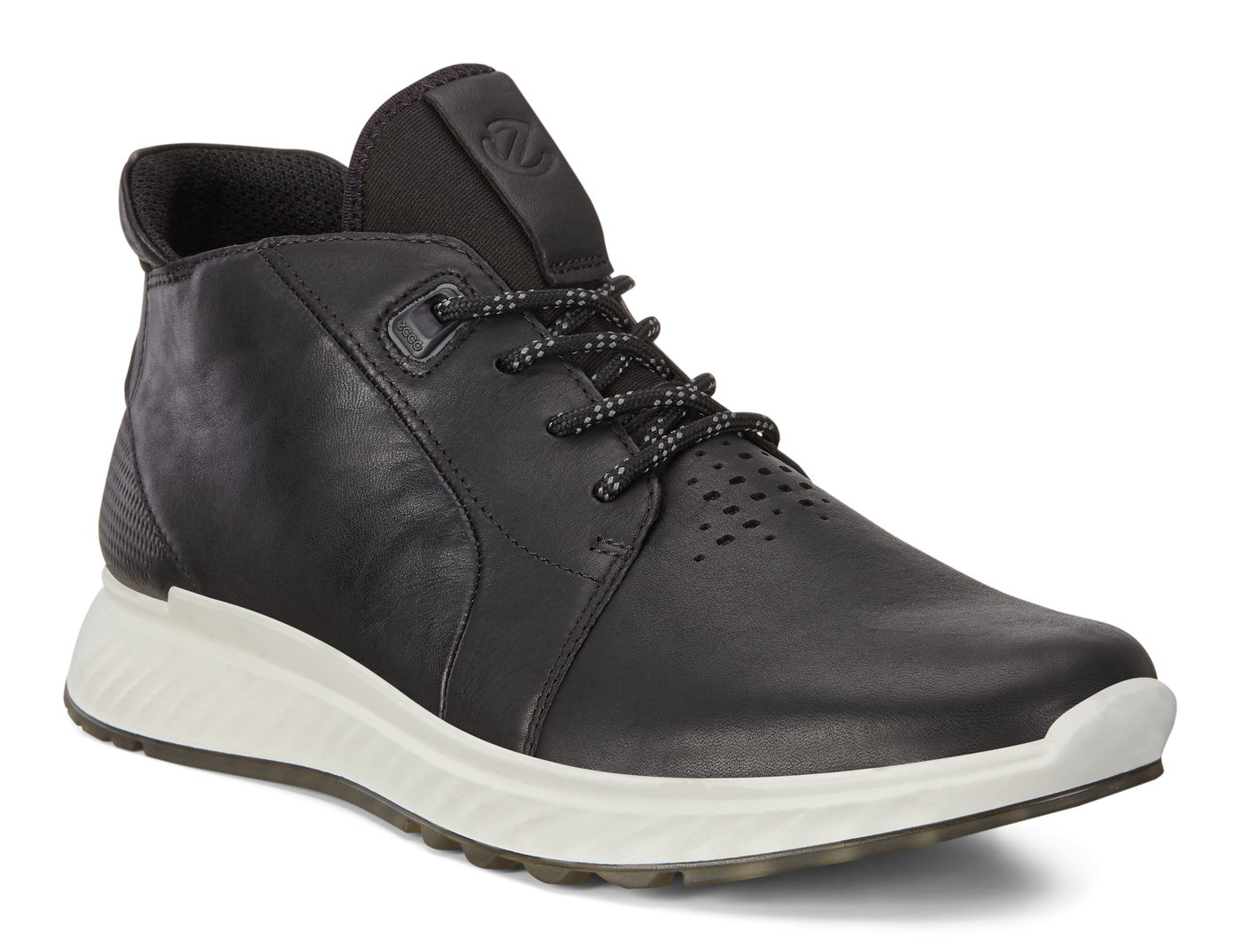 ECCO ST1 Mens High Cut Sneaker Lace