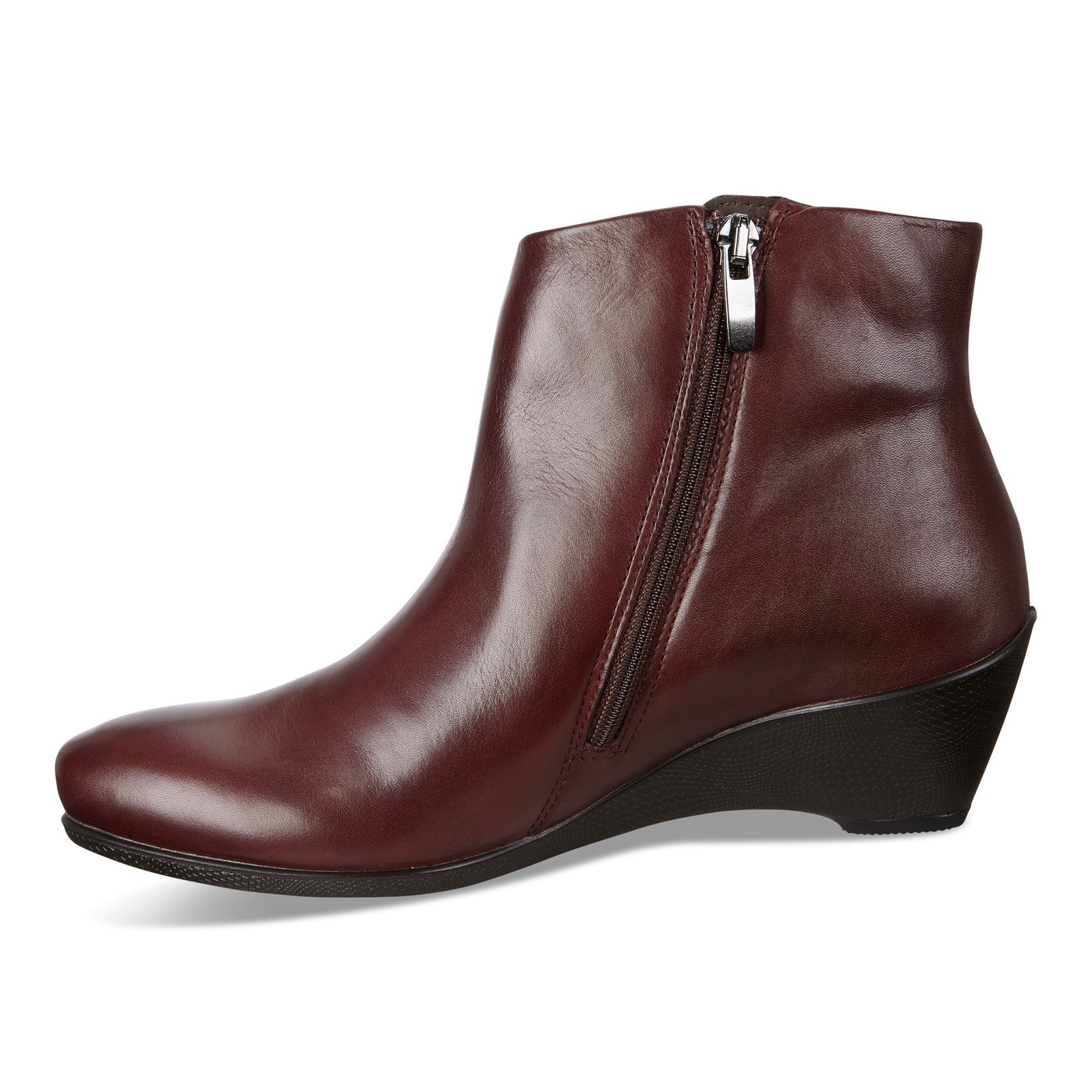 ECCO SCULPTURED Wedge Ankle Boot with INFINIUM by Gore 45mm