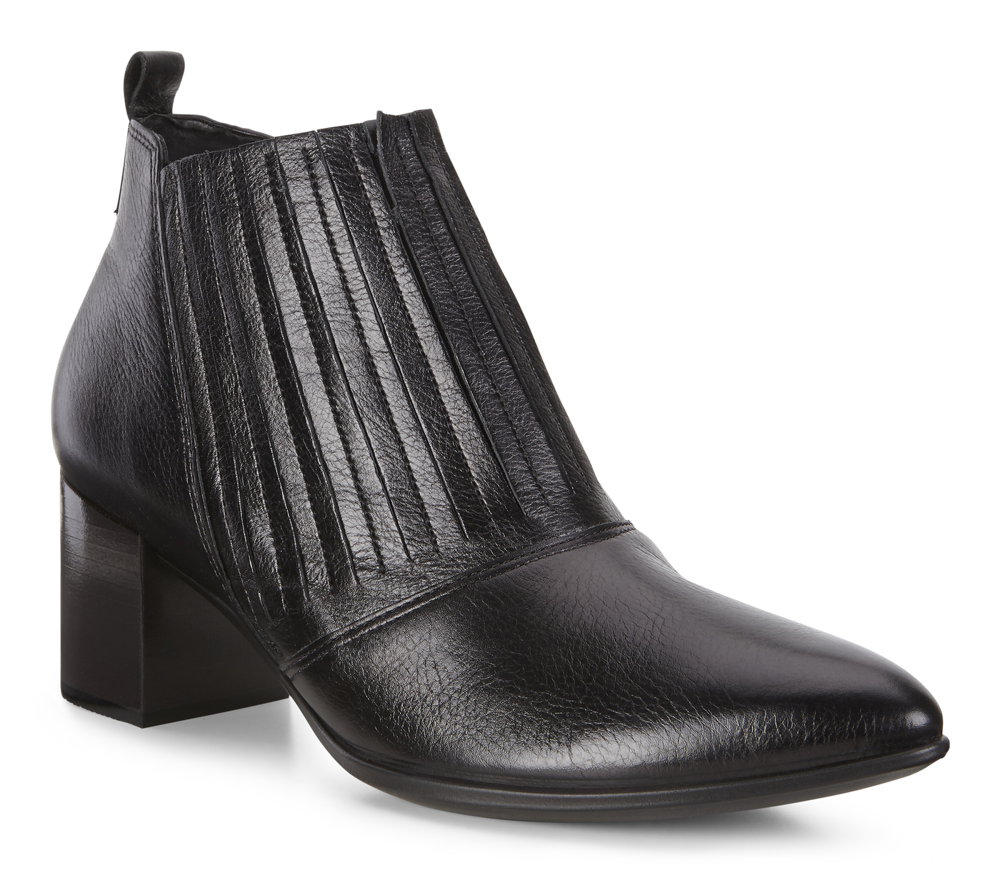 ECCO SHAPE POINTY BLOCK Stretch Ankle Boot 45mm