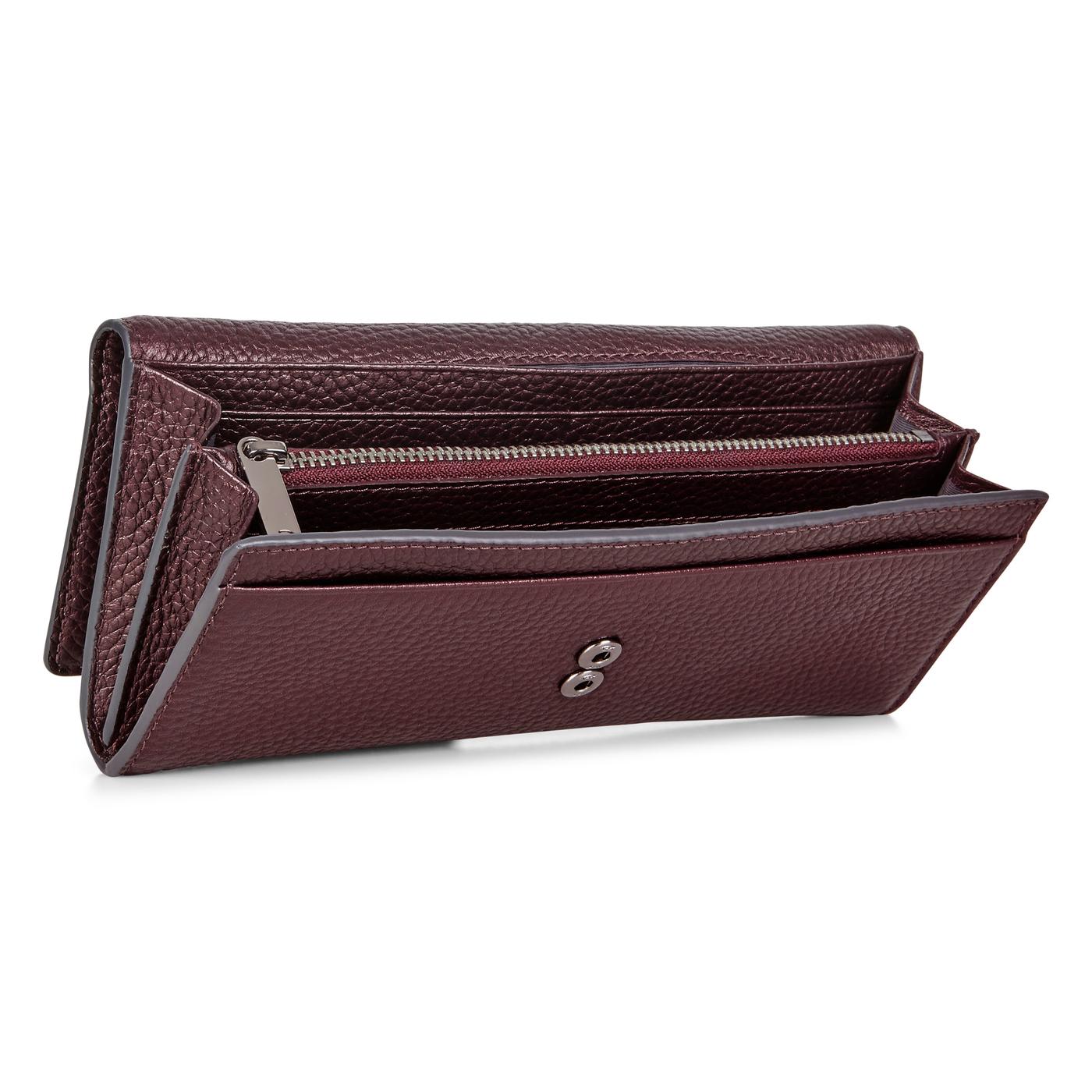 ECCO LINNEA Metallic Continental Wallet