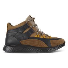 ECCO ST.1 Mens Mid Cut Lace Up Sneaker