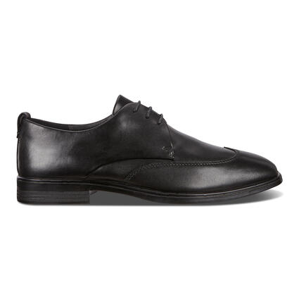 ECCO MELBOURNE Wing-Tip Tie Flexible Leather