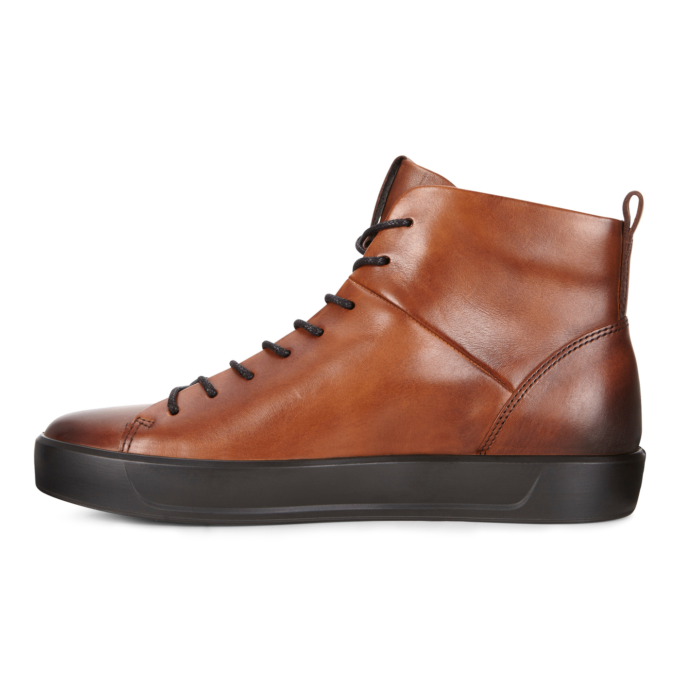 ECCO SOFT8 Mens Calf Leather High Top