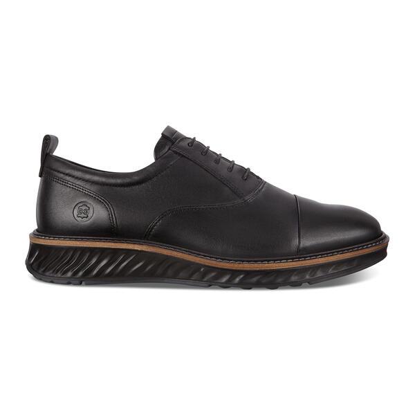 ECCO ST.1 HYBRID DriTan Leather Oxford Straight Tip