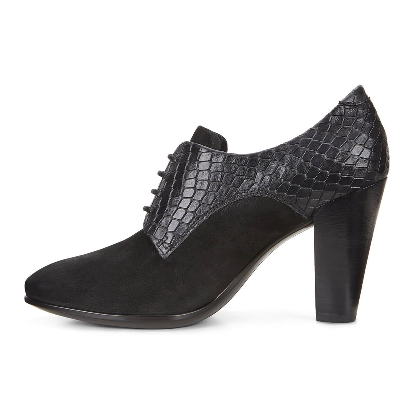 ECCO SHAPE Lace Ankle Pump 75mm