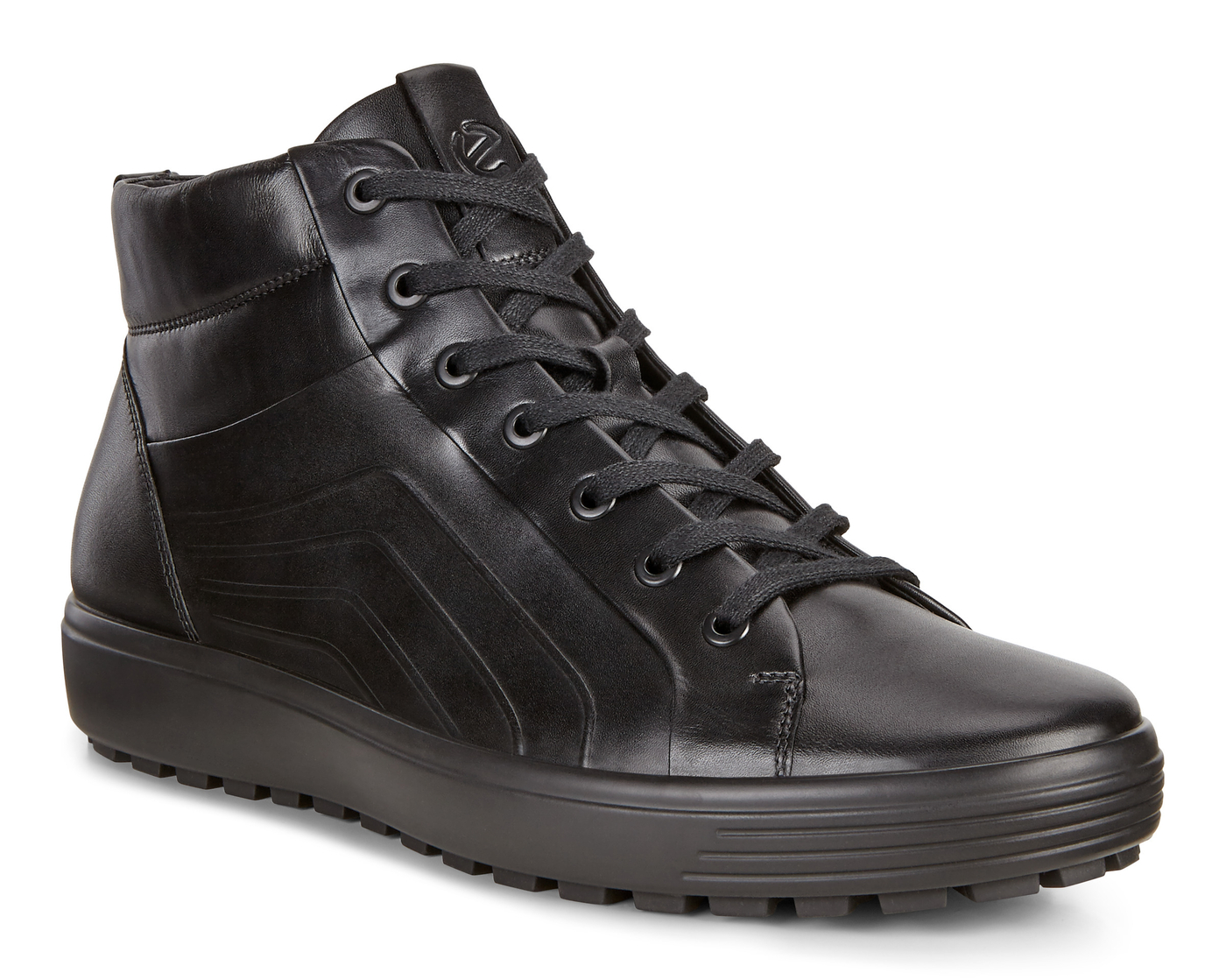 ECCO SOFT7 TRED Mens Mid Cut Sneaker Lace