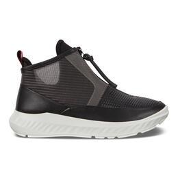 ECCO ST.1 LITE Womens Mid Cut Zip Sneaker
