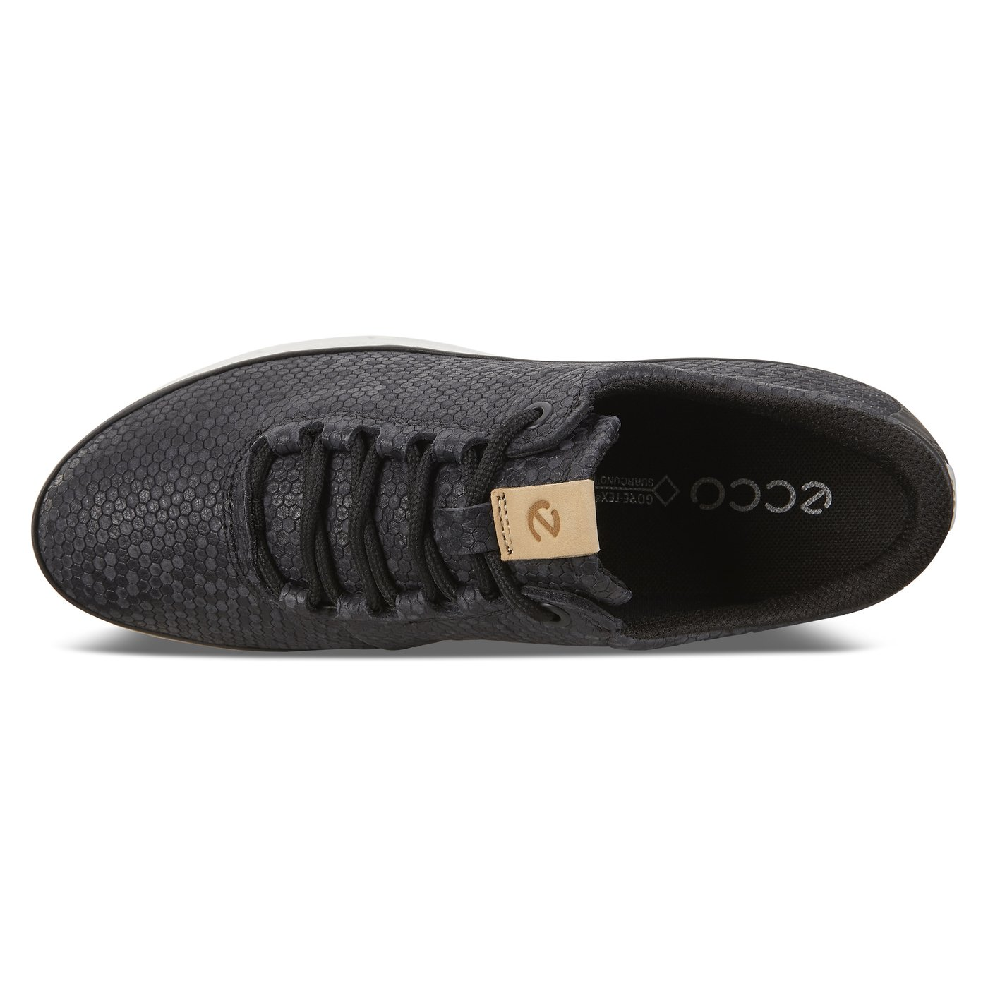 ECCO COOL Womens Camouflage-Leather Sneaker Tie