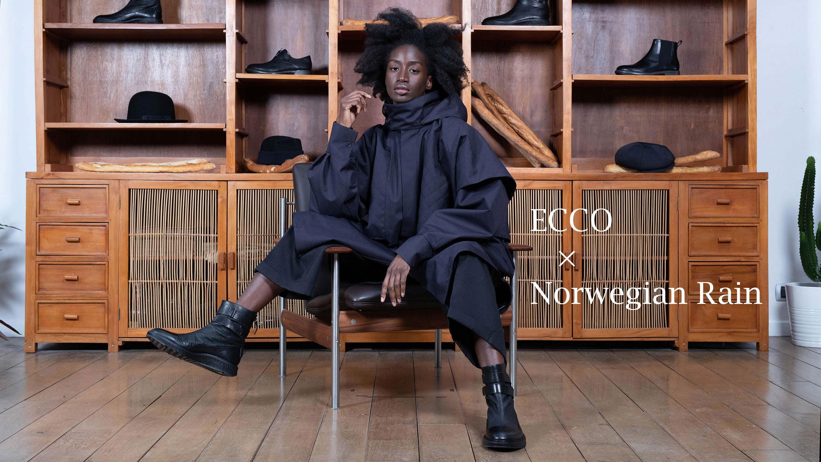 ECCO×Norwegian Rain ST.1 HYBRID