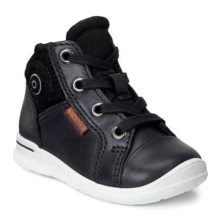 ECCO kids first black shoe